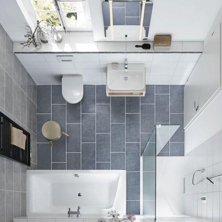 Drei Stile Platz Für Badespaß Auf Kleinstem Raum  Banyo von Badezimmer Auf Kleinem Raum Photo