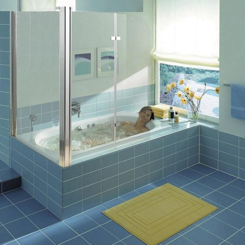 Duschabtrennung Duschkabine Duschwand Glas  Real von Duschwand Glas Für Badewanne Photo
