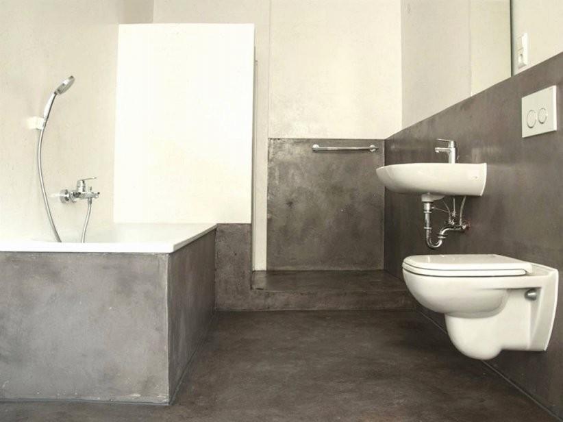 Dusche Renovieren Ohne Fliesen Best Badezimmer In Grau Fliesen von Bad Renovieren Ohne Fliesen Zu Entfernen Photo