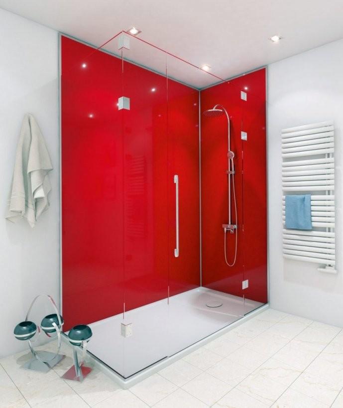 Duschen Geht Ohne Fliesen  Hwz von Dusche Wandverkleidung Ohne Fugen Bild