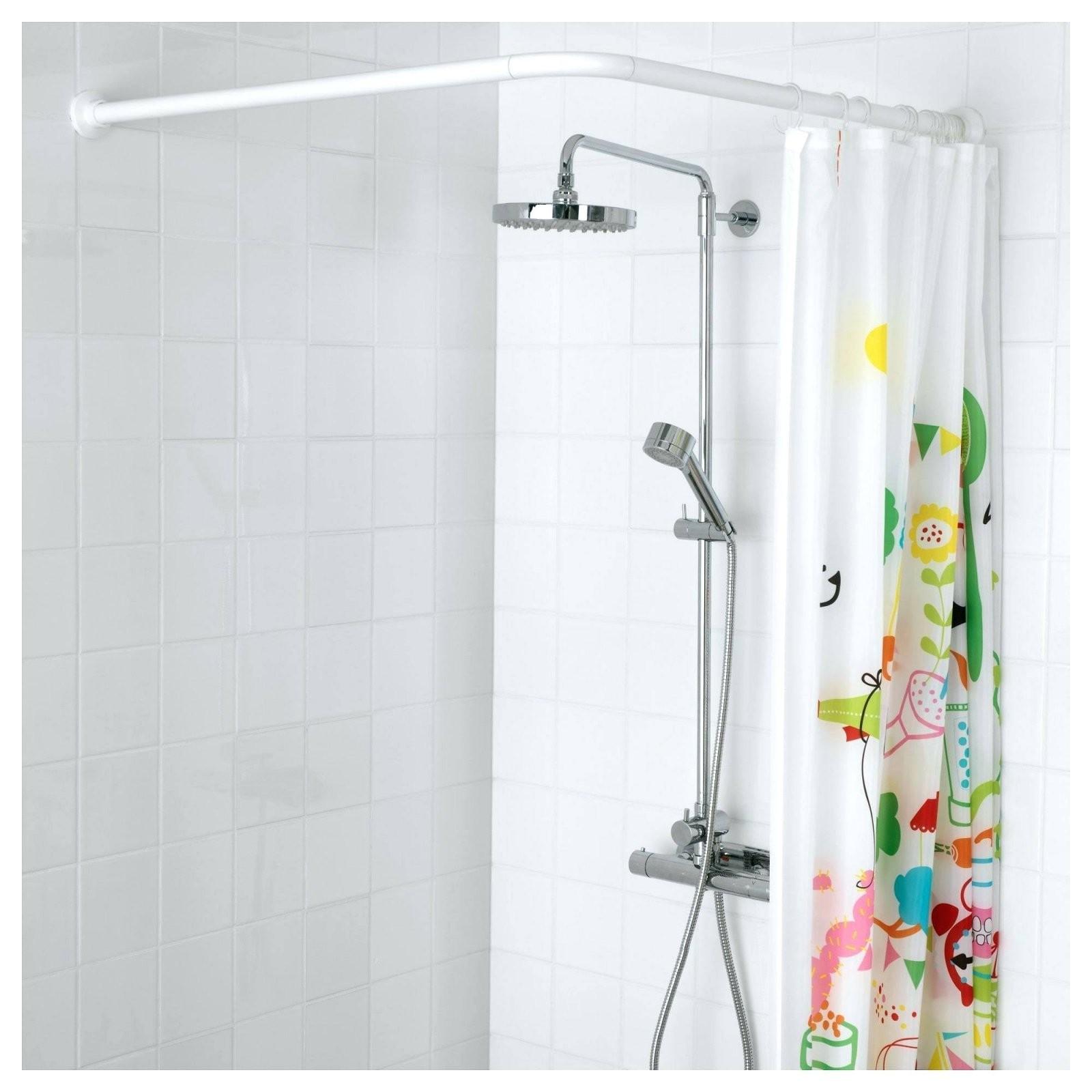 Duschvorhangstange L Form Duschvorhangstangen U Fur Badewannen von Duschvorhangstange Badewanne L Form Bild