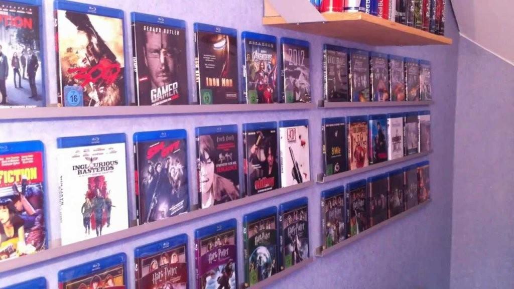 Dvd Regal Bauen von Blu Ray Regal Beleuchtet Photo