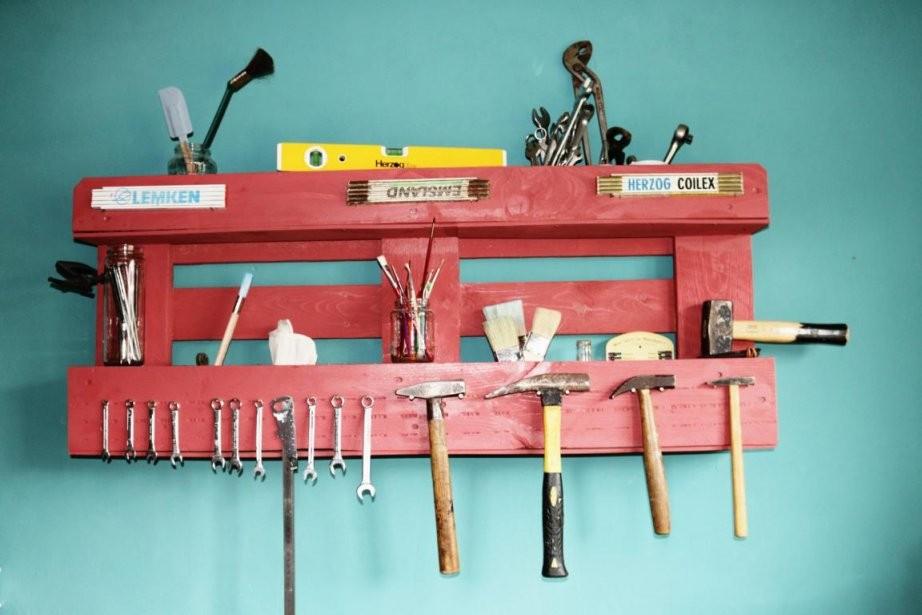 ᐅᐅ Regale Aus Paletten Selber Bauen  Kaufen  Palettenmöbel Shop von Palettenregal Selber Bauen Anleitung Bild