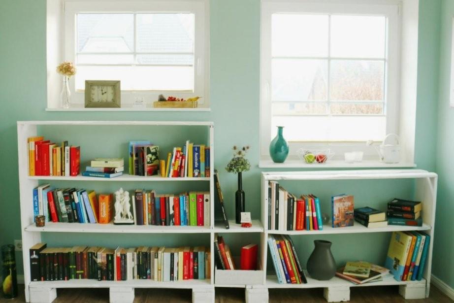ᐅᐅ Regale Aus Paletten Selber Bauen  Kaufen  Palettenmöbel Shop von Regal Aus Paletten Bauen Bild
