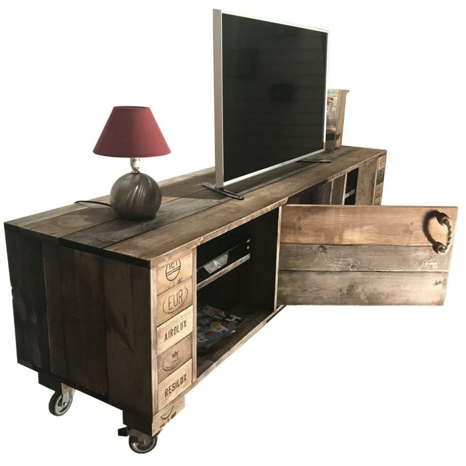 ᐅSideboard  Tv Schrank  Kommode  Palettenmöbel Shop Saris Garage von Tv Möbel Aus Europaletten Photo