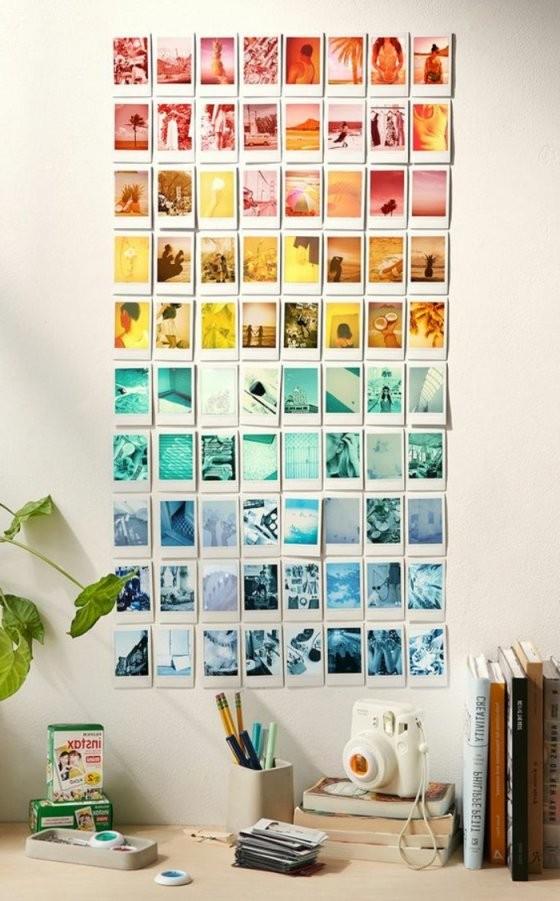 ▷ 1001+ Ideen Für Fotowand  Interessante Wandgestaltung von Fotowand Gestalten Ohne Bilderrahmen Photo