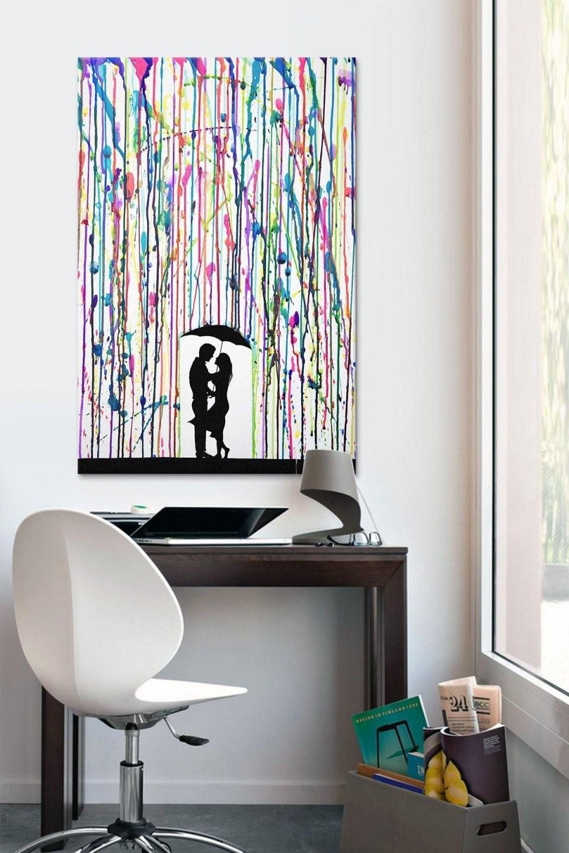 ▷ 1001+ Ideen Moderne Leinwandbilder Selber Gestalten  Zukünftige von Moderne Bilder Selber Malen Bild