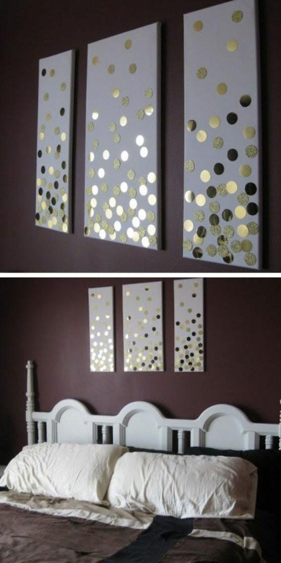 ▷ 1001 + Ideen Wie Sie Eine Kreative Wanddeko Selber Machen  Diy von Bild Auf Leinwand Selber Machen Photo