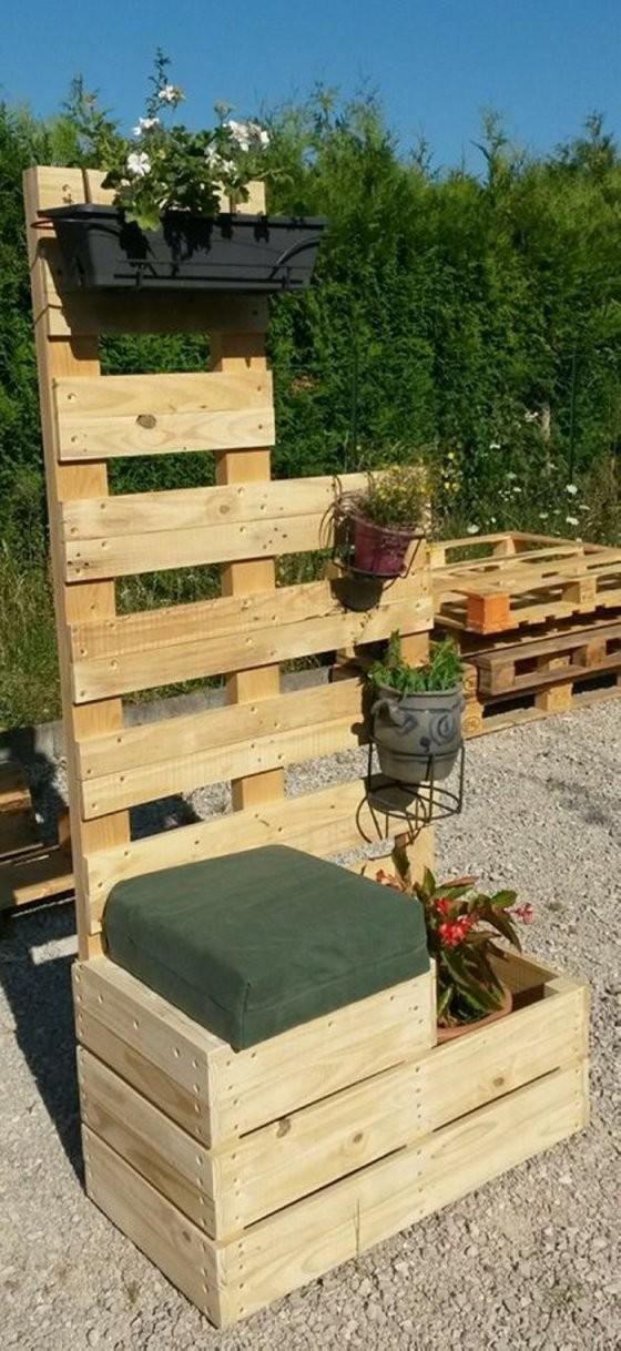 ▷ 29 Gartenideen Mit Europaletten von Kreative Ideen Mit Europaletten Bild