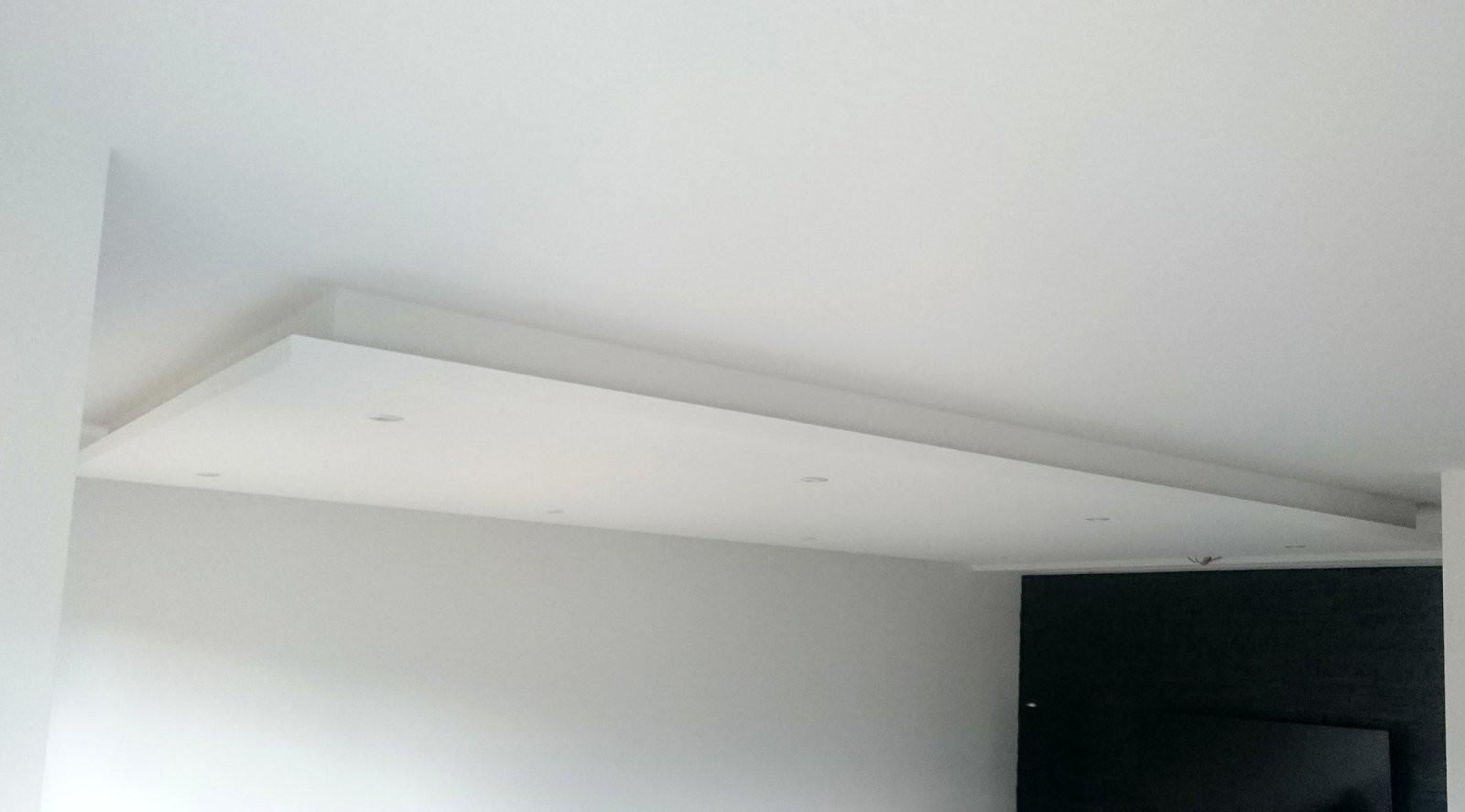 ▷ Abgehängte Decke Mit Indirekter Beleuchtung (Lichtvouten) von Bild Mit Beleuchtung Selber Machen Photo