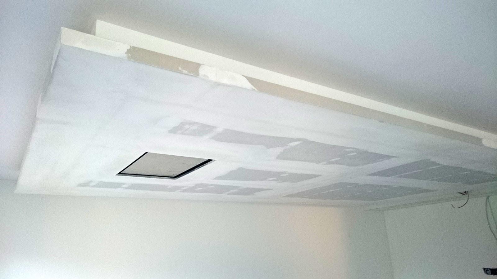 ▷ Abgehängte Decke Mit Indirekter Beleuchtung (Lichtvouten) von Indirekte Deckenbeleuchtung Selber Bauen Bild