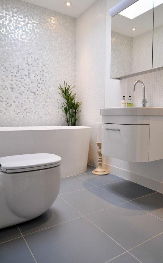 ▷ Graue Fliesen Fürs Badezimmer  61 Bilder Die Sie Beeindrucken von Bad Grau Weiß Gefliest Photo
