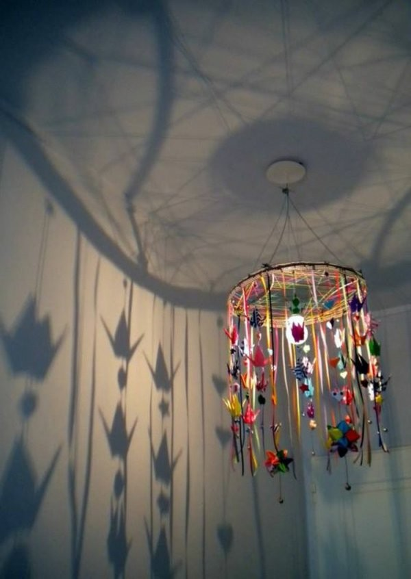 ▷ Lampenschirme Selber Machen  30 Inspirierende Bastelideen von Do It Yourself Lampenschirm Bild