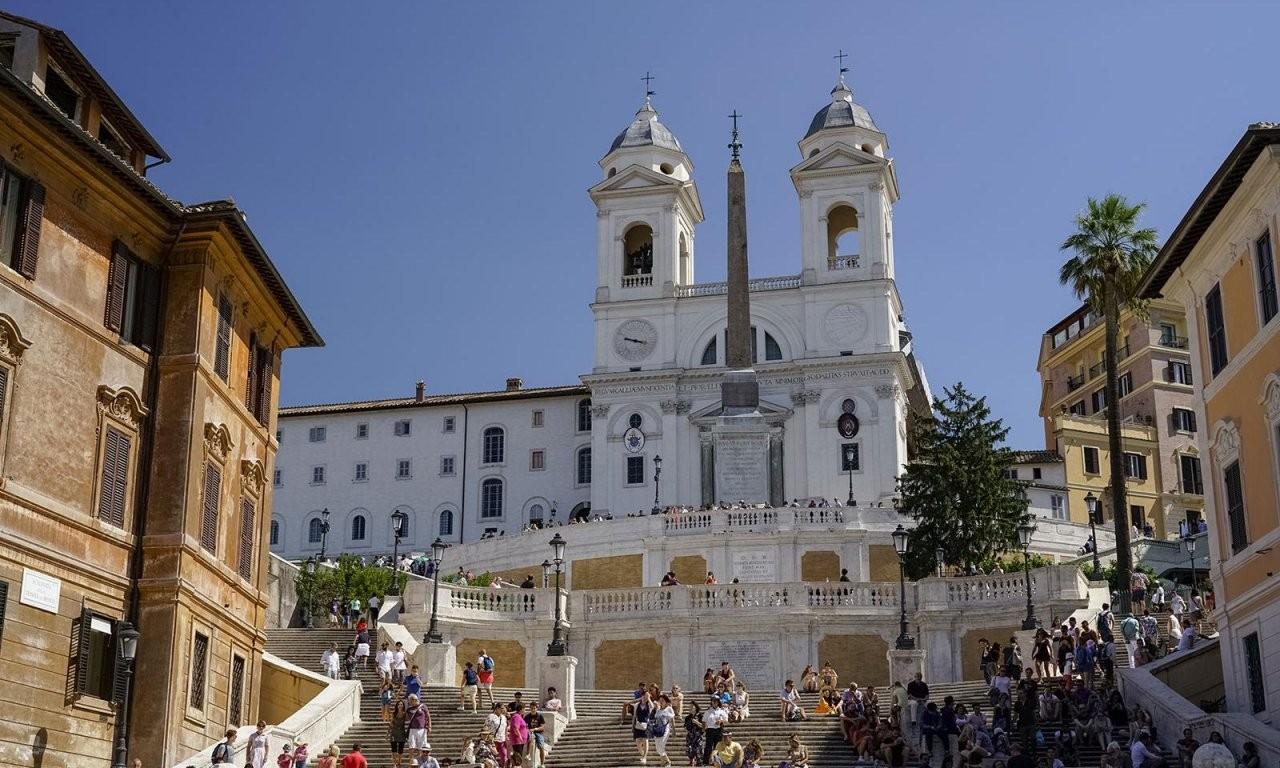 ▷ Warum Die Spanische Treppe Rom Ihren Namen Trägt – Alle Infos 2019 von Webcam Rom Spanische Treppe Bild