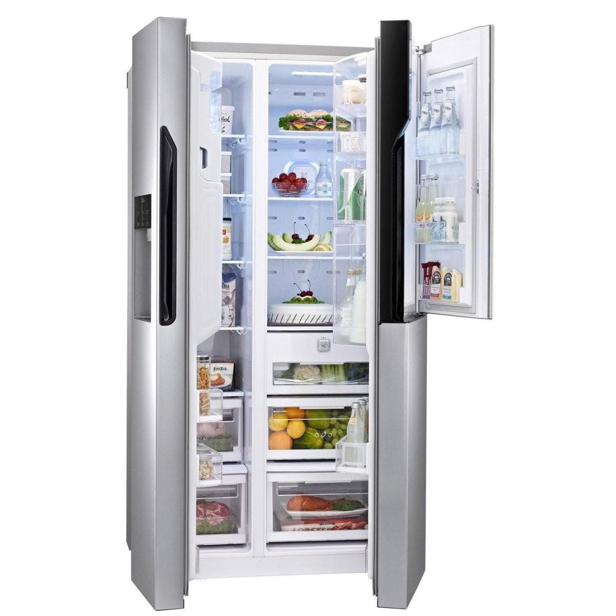 ✨ Sidebyside Kühlschränke Test 072019 Testsieger Unter 52400Euro von Kühlschrank 100 Cm Breit Photo