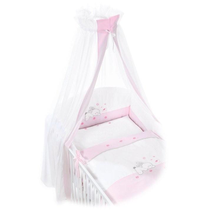 Easy Baby Beddengoed Set Rabbit Rosé  Pinkorbluenl von Baby Bettwäsche 135X100 Photo