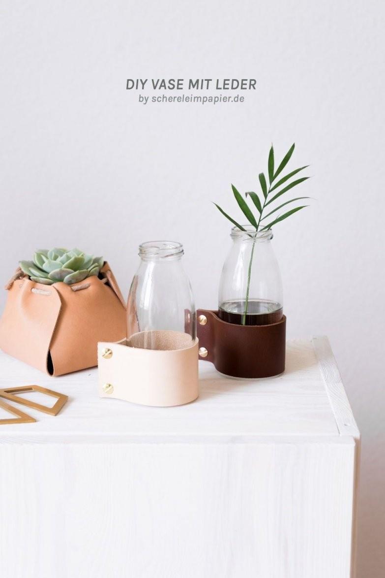 Easy Upcycling Diy Wie Du Eine Saftflasche Weiterverwendest von Wohnzimmer Deko Selber Machen Photo
