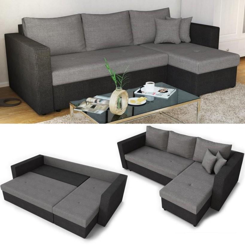 Ecksofa Mit Schlaffunktion Sofa Couch Schlafsofa  Real von Kleine Polsterecke Mit Schlaffunktion Bild