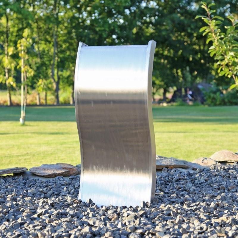 Edelstahl Wasserwand Esbs70 Springbrunnen Mit Beleuchtung von Gartenbrunnen Edelstahl Mit Beleuchtung Bild