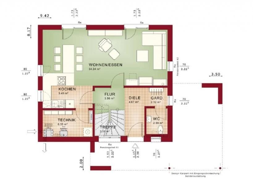 Edition 1 V2  Bien Zenker  Hausbaudirekt von Bien Zenker Edition 1 Photo