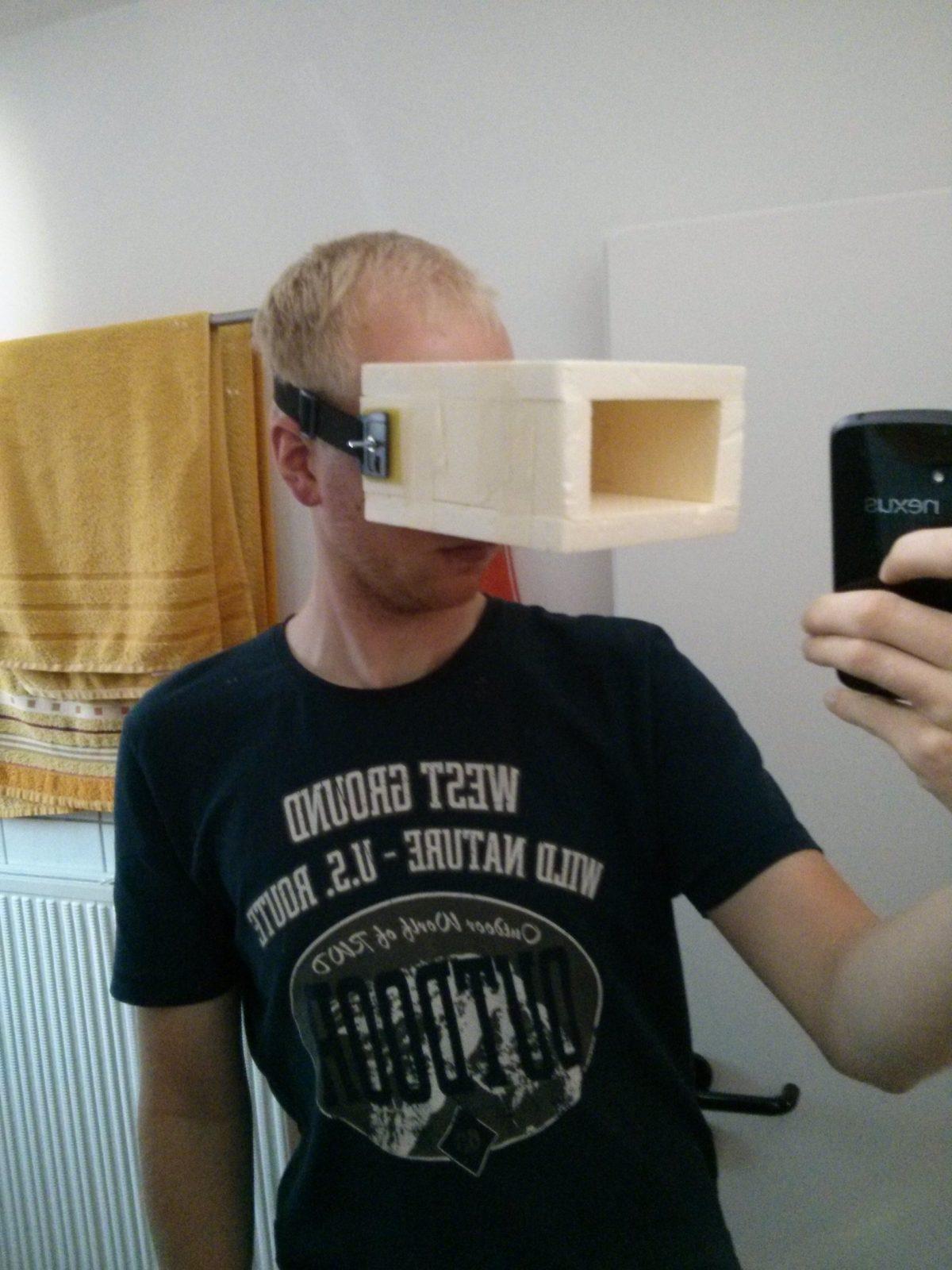 Eigenbau Fpv Brille  Amshove von Fpv Brille Selber Bauen Bild