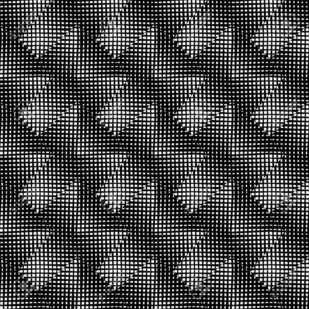 Ein Elegantes Schwarzweißmuster Geometrische Quadratischen von Fliesen Schwarz Weiß Muster Bild
