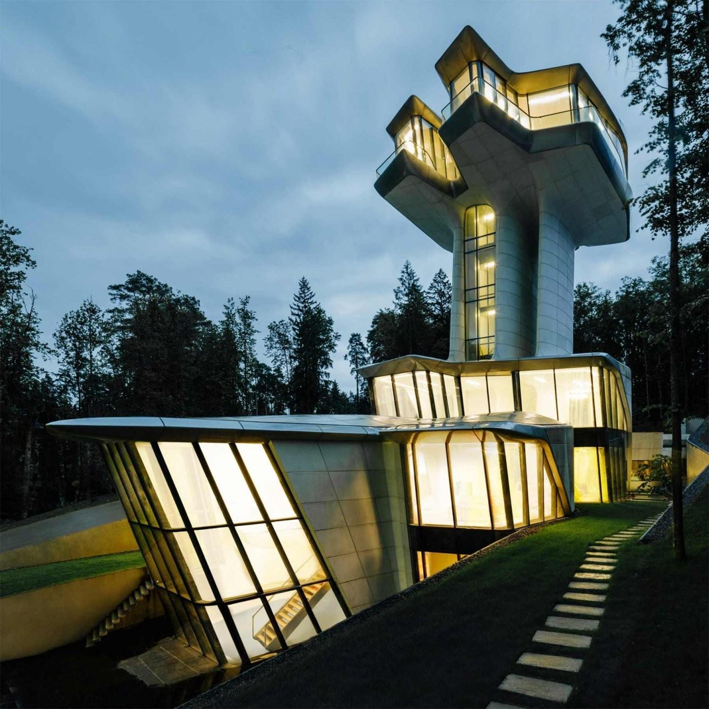 Ein Haus Wie Ein Raumschiff von Wie Plane Ich Ein Haus Photo
