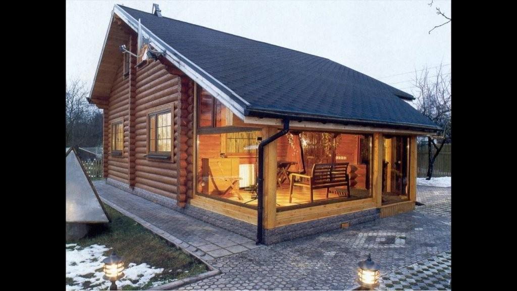 Ein Kleines Holzhaus Selber Bauen Aus Nur Holz Und Holzleim  Youtube von Blockhaus Selber Bauen Kosten Photo