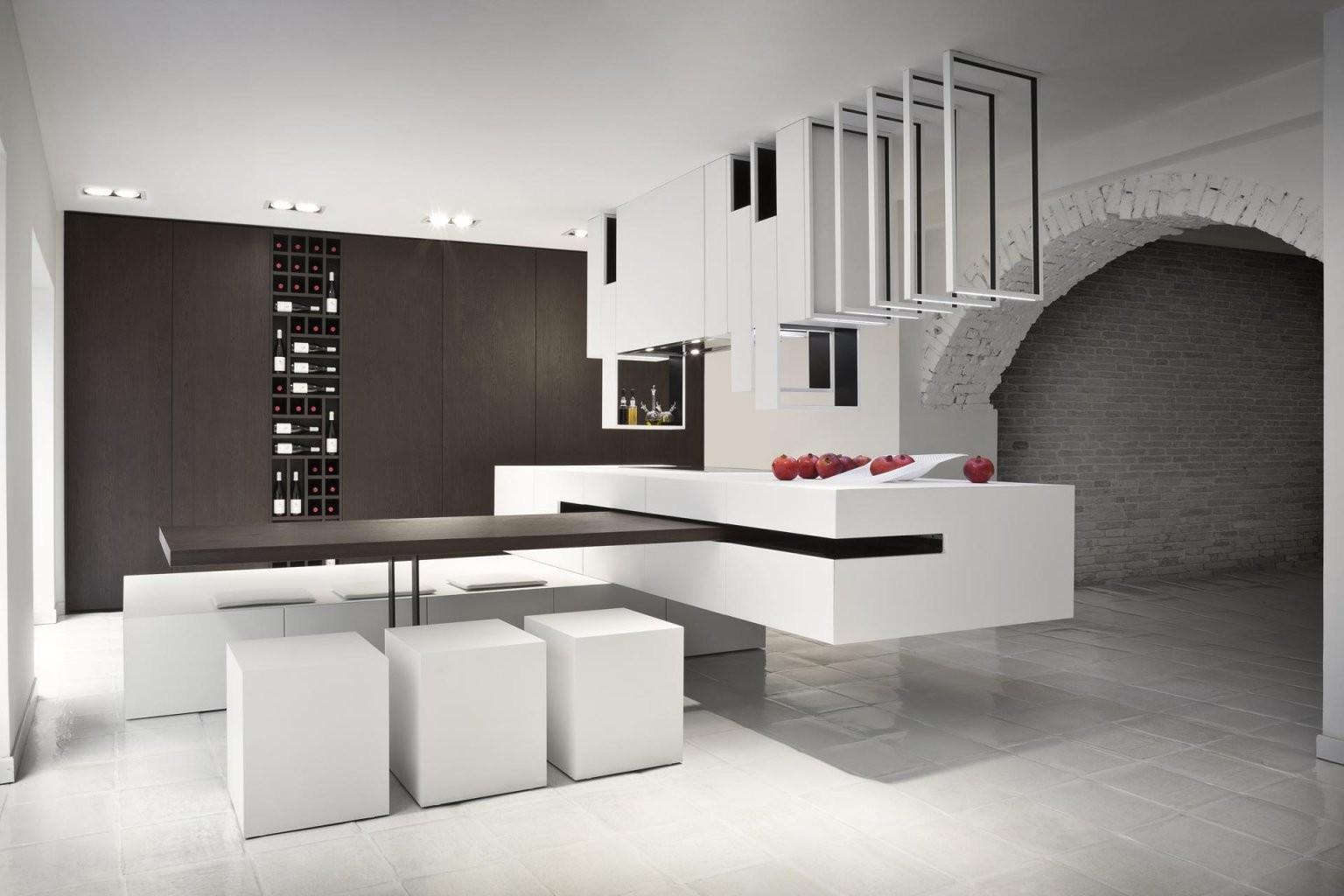 Eine Moderne Kochinsel Für Luxuriöse Küchen  Freshouse von Luxus Küche Mit Kochinsel Bild
