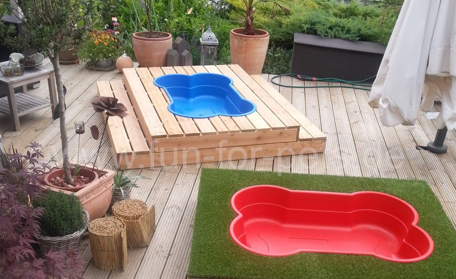 Einen Hundepool Kaufen  Poolarten Und Shops Im Überblick von Hunde Pool Selber Bauen Photo