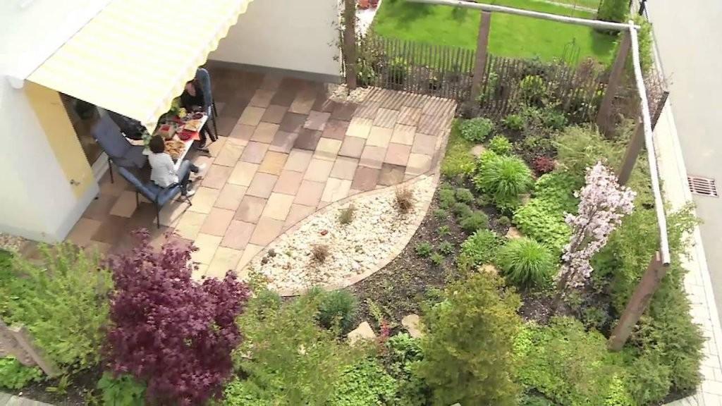 Einen Reihenhausgarten Gestalten  Youtube von Vorgarten Gestalten Reihenhaus Ideen Bild