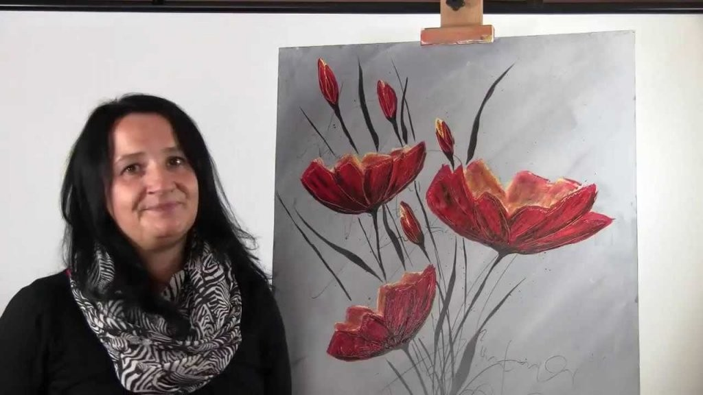 Einfach Malen Lernen Mit Acryl  Wie Sie In Nur 5 Schritten Ihr von Acrylbilder Für Anfänger Anleitung Bild