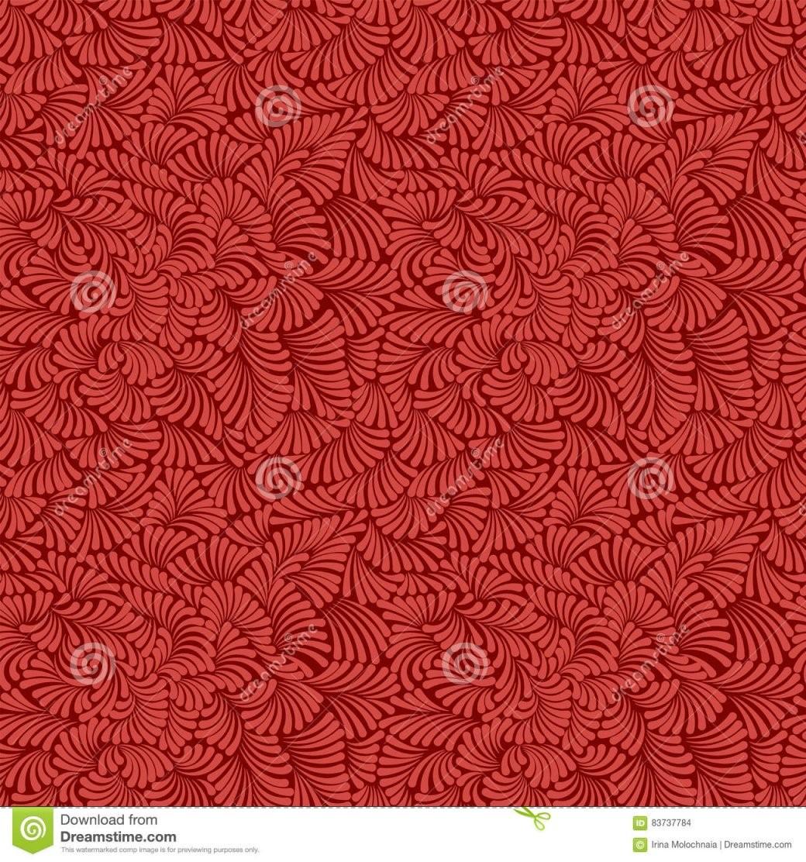 Einfaches Und Schönes Nahtloses Muster Für Design Königliche Rote von Rote Tapete Mit Muster Bild