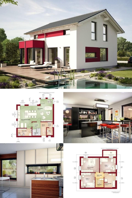Einfamilienhaus Modern Grundriss  Haus Edition 1V4 Bien Zenker von Bien Zenker Edition 1 Bild