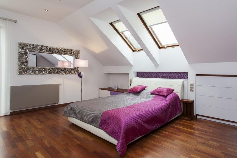 Einrichtungsideen  Institut Für Raumdesign von Einrichtungsideen Schlafzimmer Mit Dachschräge Photo