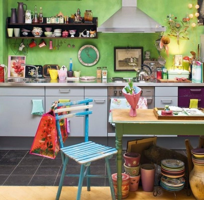 Einrichtungstipps So Wird Aus Kleinem Raum Eine Große Küche  Welt von Kleine Küche Gestalten Ideen Photo