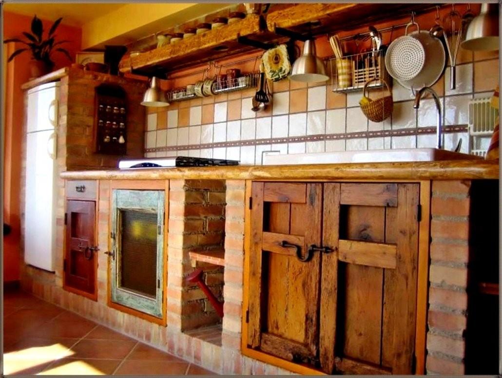 Einzigartige Rustikale Kuchen Selber Bauen Küche Bietet Ein von Rustikale Küche Selber Bauen Bild