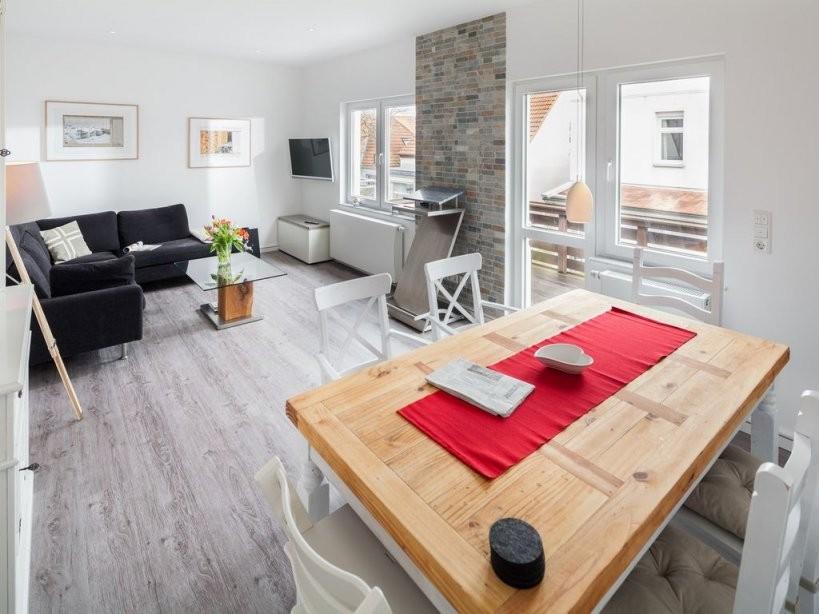 Einzigartiges 6P Luxusferienhaus Mit 3 Schlafzimmern 2 Bädern Und von Ferienwohnung Meerblick Exklusiv Norderney Norderney Bild