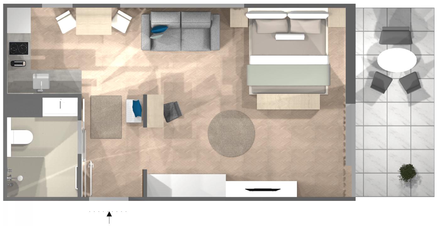 Einzimmerwohnung Einrichten 5 Ideen Und Inspirierende Bilder von 1 Zimmer Wohnung Dekorieren Photo
