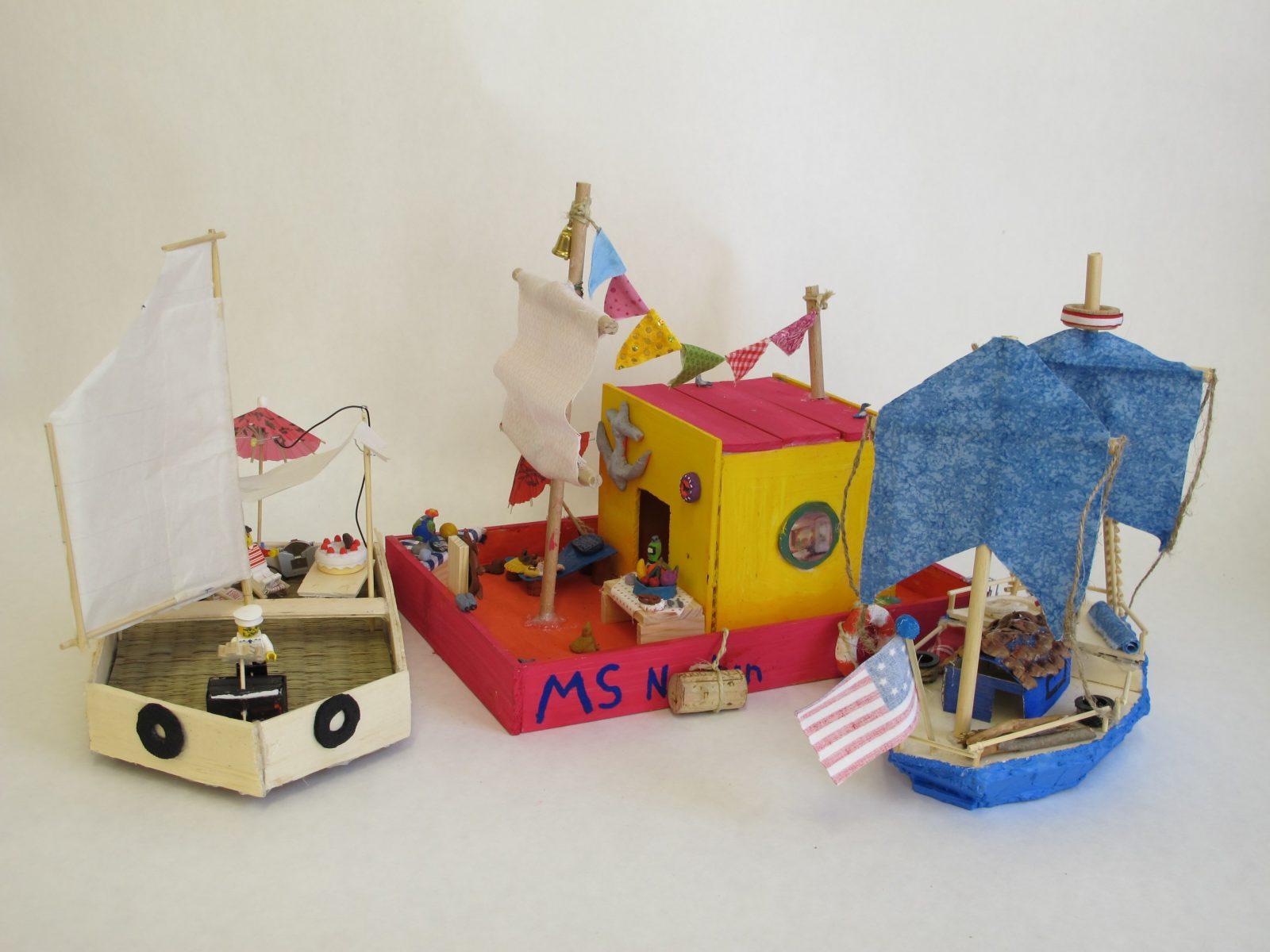 Elegant Uboot Basteln Mit Kindern  Basteln von Boote Basteln Mit Kindern Bild