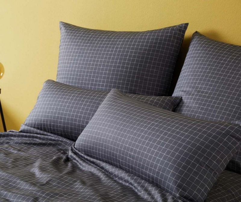 Elegante Mako Jersey Bettwäsche Dice  Markenqualität Zu Fairen von Bettwäsche 155X220 Jersey Reißverschluss Bild