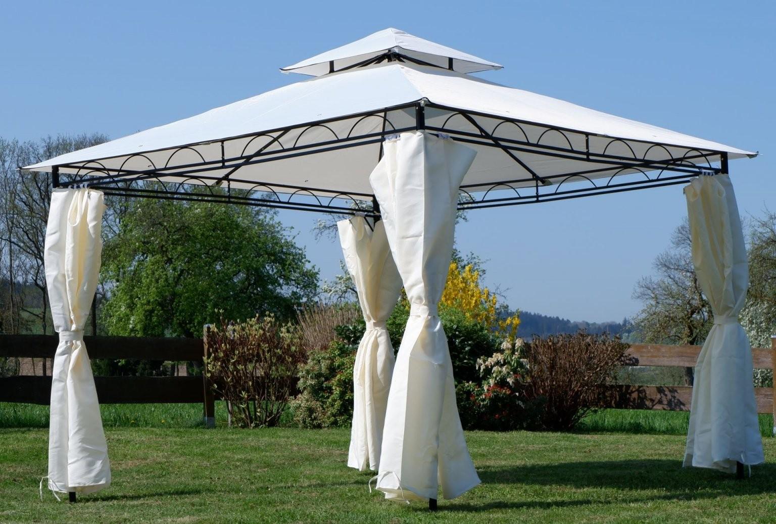 Eleganter Garten  Pavillon 3X3 Meter Dach 100% Wasserdicht Uv30+ von Pavillon Metall 3X3 Wasserdicht Bild