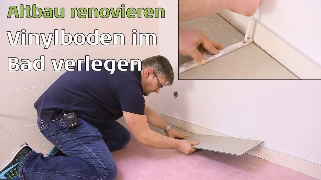 Emejing Vinylboden Im Bad Abdichten Ideas  Erstaunliche Ideen von Vinylboden Im Bad Verlegen Photo