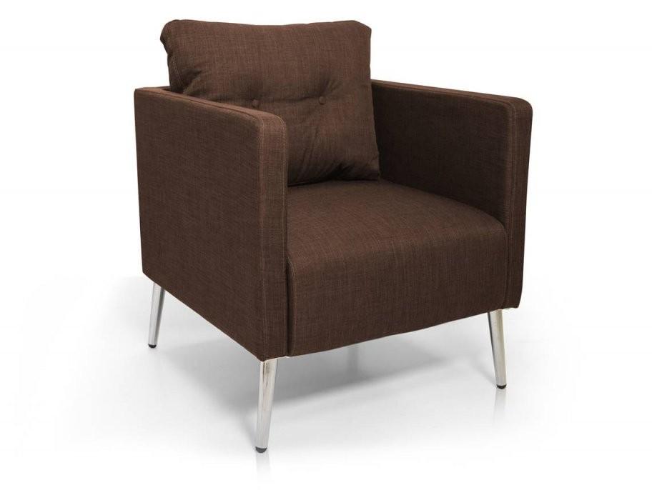Emilian Sessel  Armlehnensessel Material Stoff Braun von Wohnzimmer Sessel Mit Armlehne Photo