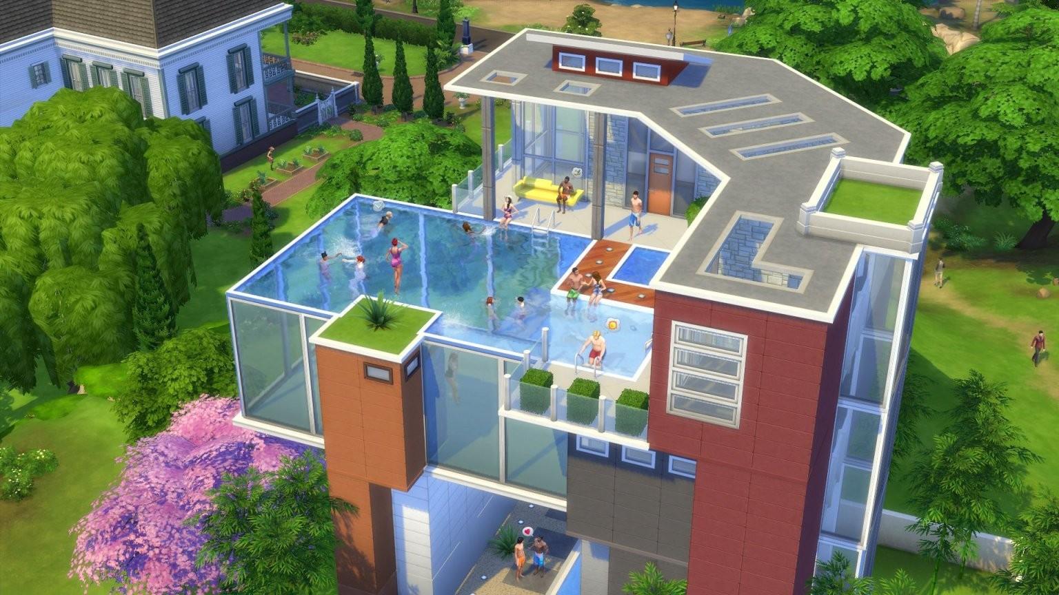 Erfahre Bei Uns Alle Zu Den Pools In Die Sims 4 Welche von Sims 4 Haus Bauen Bild