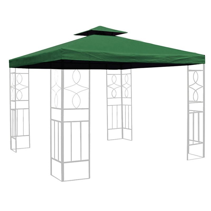 Ersatzdach 3X3 M Partyzelt Gazebo Pavillion Dach Pavillon Planen von Ersatz Pavillon Dach 3X3 Bild