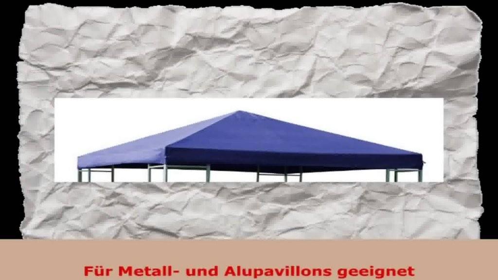 Ersatzdach Für Pavillon 3X3 Meter Blau Wasserdicht  Youtube von Ersatzdach Für Pavillon 3X3 Bild