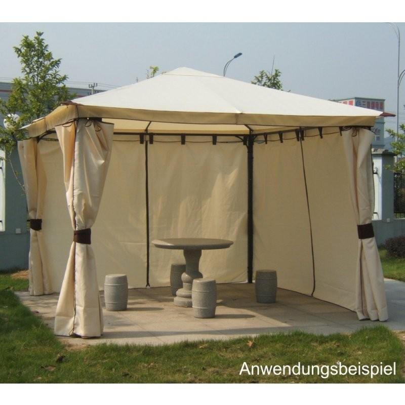Ersatzdach Pavillon Venezia Ecru 300X300Cm Pvc  Sonderpreis Baumarkt von Ersatzdach Für Pavillon 3X3 Bild