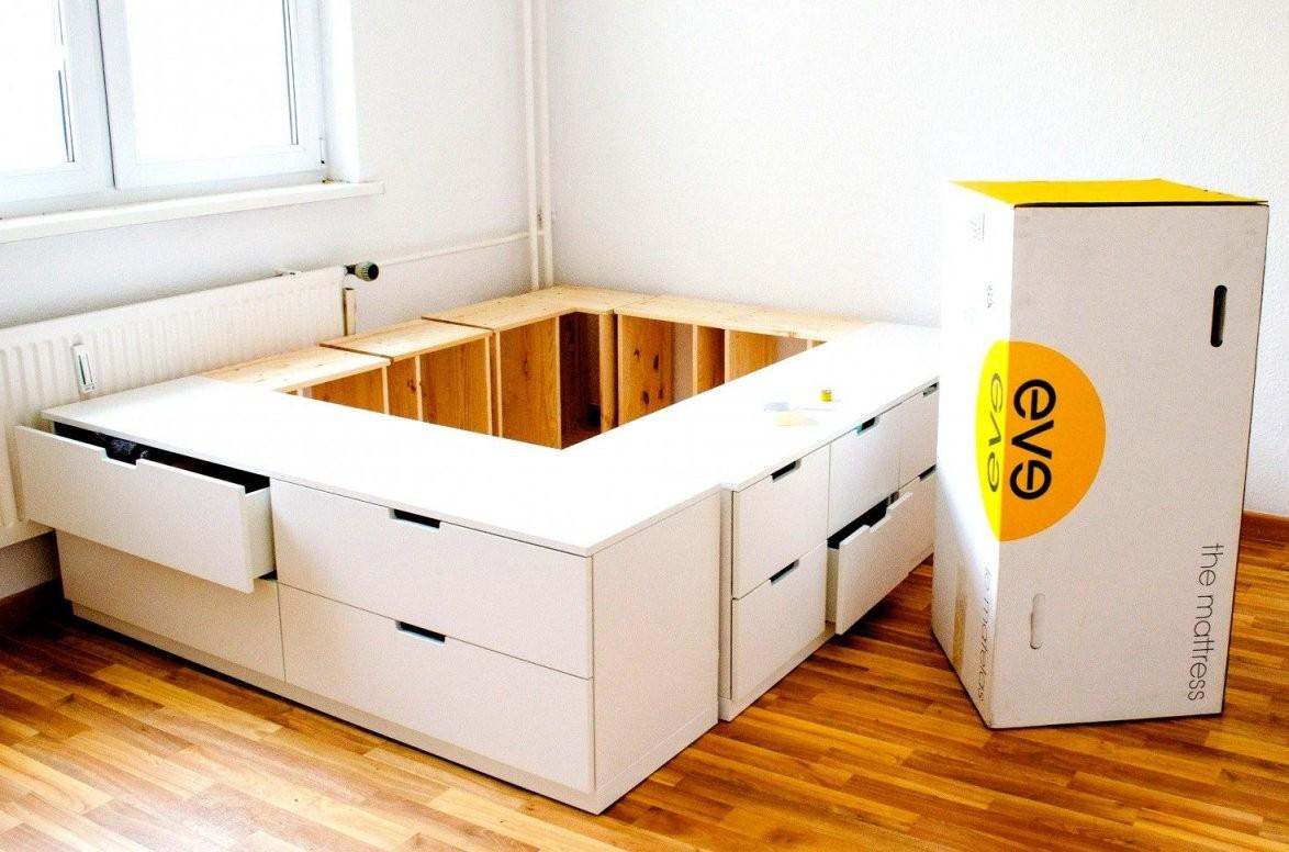 Erstaunlich Von Bett Selber Bauen Ikea Diy Ikea Hack Plattform Aus von Bett Selber Bauen Ikea Bild