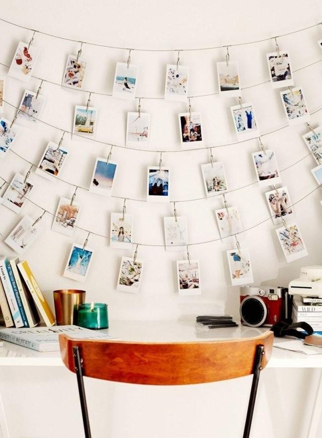 Erstellen Sie Eine Fotowand Ohne Bilderrahmen  Ideen Und Vorschläge von Fotowand Gestalten Ohne Bilderrahmen Bild